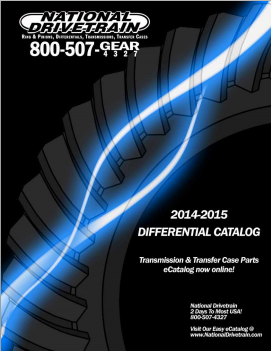 National Drivetrain Catalog